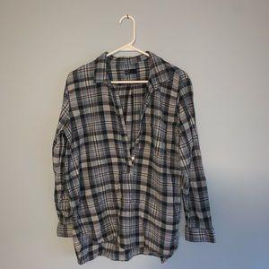 GAP Flannel Pullover
